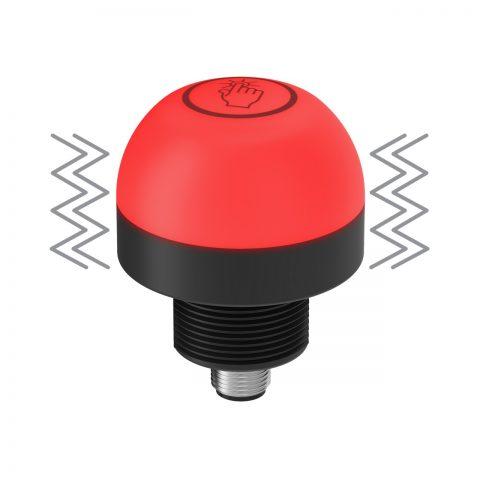 Botón táctil K50 Pro con retroalimentación de vibración